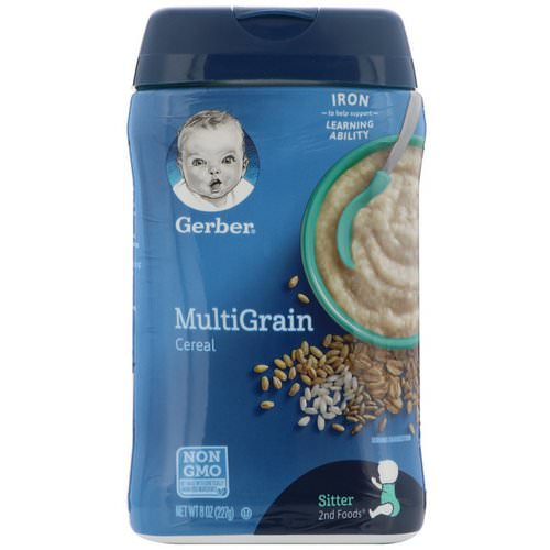 Gerber, MultiGrain Cereal, 8 oz (227 g) Review