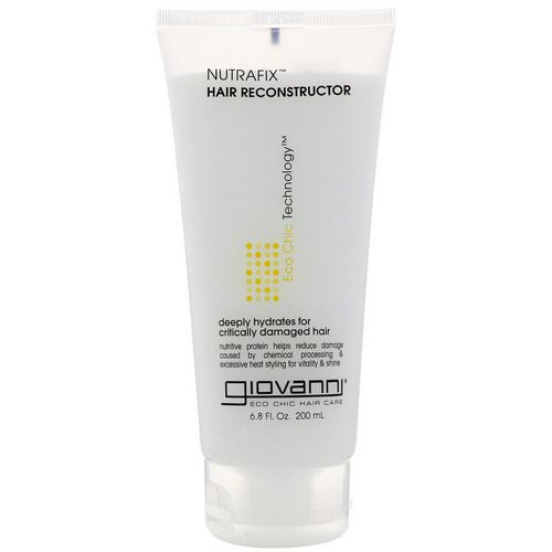 Giovanni, Nutrafix Hair Reconstructor, 6.8 fl oz (200 ml) Review