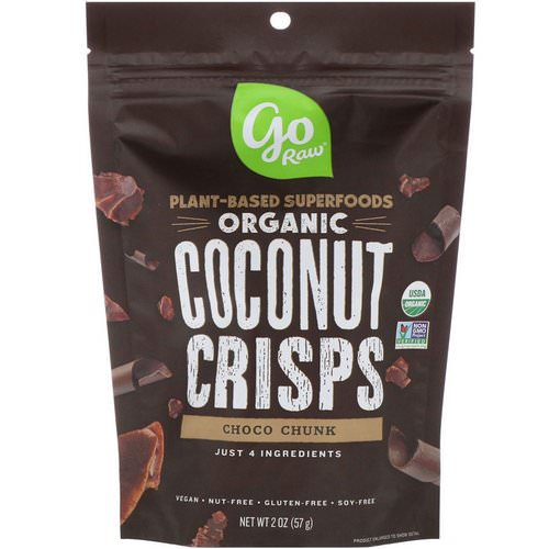 Go Raw, Organic, Coconut Crisps, Choco Chunk, 2 oz (57 g) Review