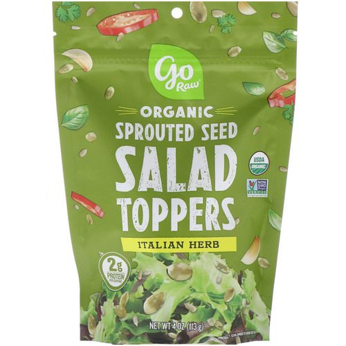 Go Raw, Organic, Sprouted Seed Salad Toppers, Italian Herb, 4 oz (113 g) Review