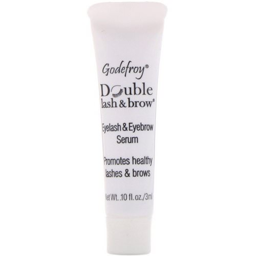 Godefroy, Double Lash & Brow, Eyelash and Eyebrow Serum, 0.1 fl oz (3 ml) Review
