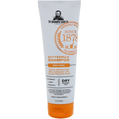 Grandpa's, Buttermilk Shampoo, Nourish, 8 fl oz (235 ml) Review