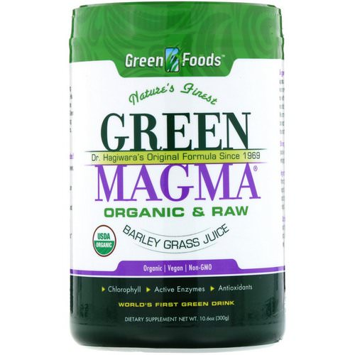 Green Foods, Green Magma, Barley Grass Juice, 10.6 oz (300 g) Review