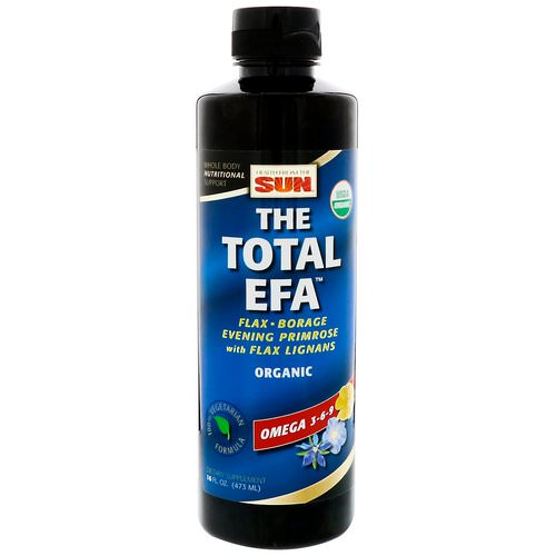 Health From The Sun, The Total EFA, Omega 3-6-9, 16 fl oz (473 ml) Review