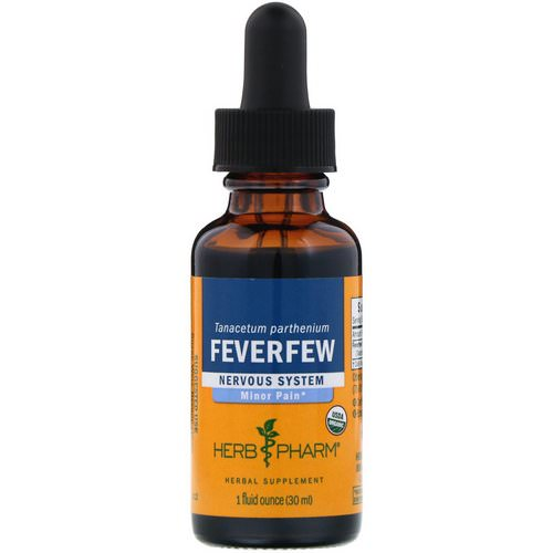 Herb Pharm, Feverfew, 1 fl oz (30 ml) Review