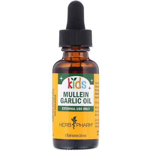 Herb Pharm, Mullein Garlic Oil, For Kids, 1 fl oz (30 ml) Review