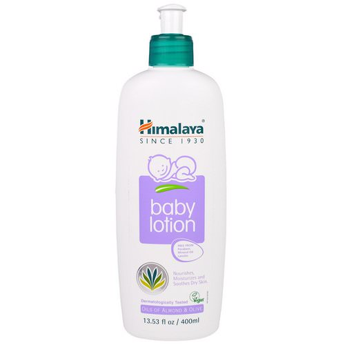 Himalaya, Baby Lotion, Oils of Almond & Olive, 13.53 fl oz (400 ml) Review