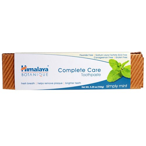 Himalaya, Botanique, Complete Care Toothpaste, Simply Mint, 5.29 oz (150 g) Review