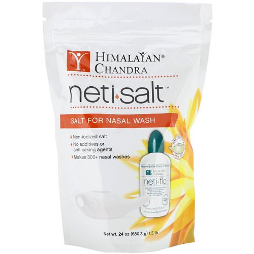 Himalayan Institute, Neti Salt, Salt for Nasal Wash, 1.5 lbs (680.3 g) Review