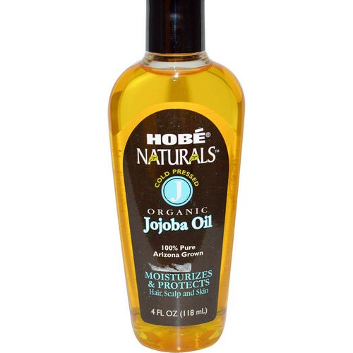 Hobe Labs, Naturals, Organic Jojoba Oil, 4 fl oz (118 ml) Review