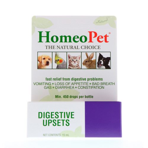 HomeoPet, Digestive Upsets, 15 ml Review