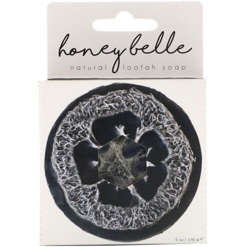 Honey Belle, Natural Loofah Soap, Charcoal Bamboo, 5 oz (140 g) Review