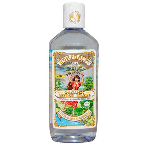 Humphrey's, Certified Organic Witch Hazel, 8 fl oz (237 ml) Review