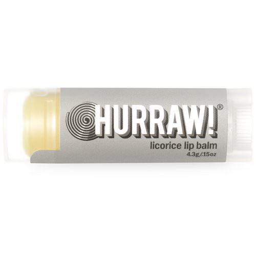 Hurraw! Balm, Licorice Lip Balm, .15 oz (4.3 g) Review