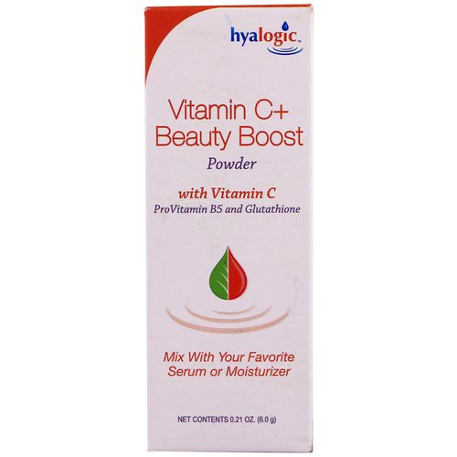 Hyalogic, Vitamin C+ Beauty Boost Powder, 0.21 oz (6.0 g) Review