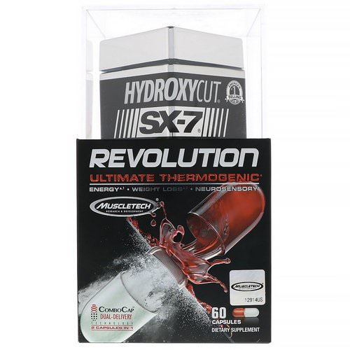 Hydroxycut, SX-7 Revolution Ultimate Thermogenic, 60 Capsules Review