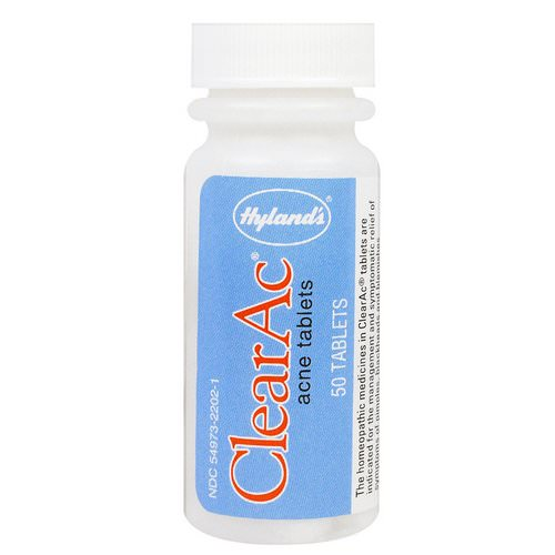 Hyland's, ClearAc, 50 Tablets Review