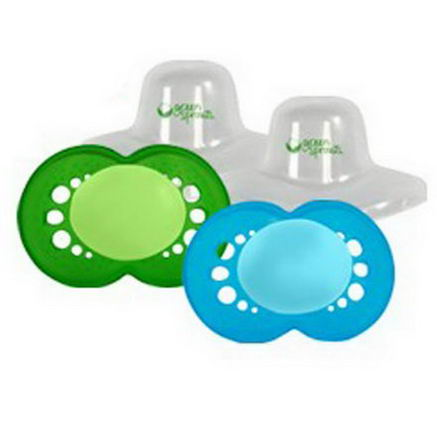 iPlay Inc. Pacifiers 6-18 Months, Boy, 2 Pack
