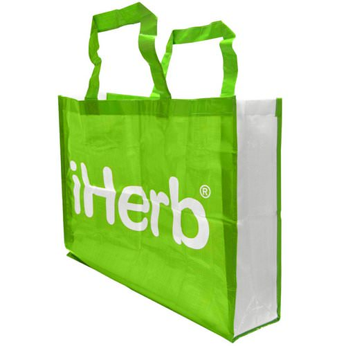 iHerb Goods, Grocery Tote Bag, Extra Large Review
