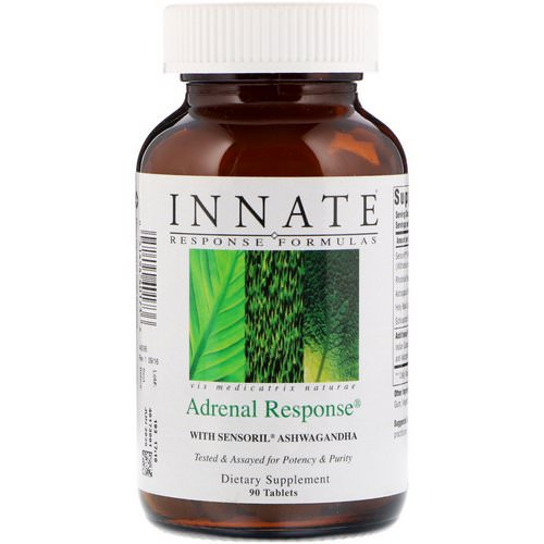 Innate Response Formulas, Adrenal Response, 90 Tablets Review