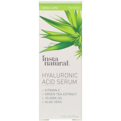 InstaNatural, Hyaluronic Acid Serum, Hydrating, 0.17 fl oz (5 ml) Review