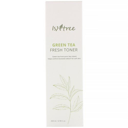 Isntree, Green Tea Fresh Emulsion, 4.06 fl oz (120 ml) Review