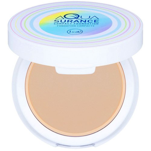 J.Cat Beauty, Aquasurance Compact Foundation, ACF104 Soft Tan, 0.31 oz (9 g) Review