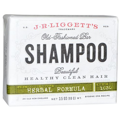 J.R. Liggett's, Old-Fashioned Bar Shampoo, Herbal Formula, 3.5 oz (99 g) Review