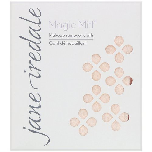 Jane Iredale, Magic Mitt, Makeup Remover Cloth, 1 Count Review