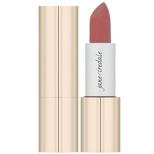 Jane Iredale, Triple Luxe, Long Lasting Naturally Moist Lipstick, Jackie, .12 oz (3.4 g) Review