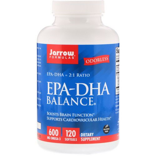 Jarrow Formulas, EPA-DHA Balance, 120 Softgels Review