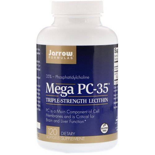 Jarrow Formulas, Mega PC-35, 120 Softgels Review