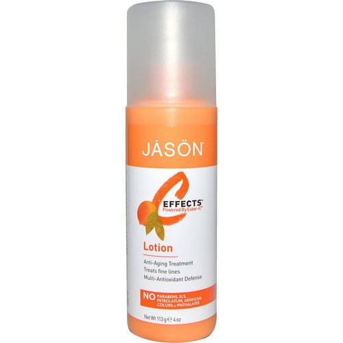 Jason Natural, C-Effects, Lotion, 4 oz (113 g) Review