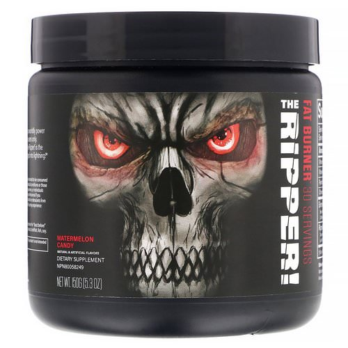 JNX Sports, The Ripper, Fat Burner, Watermelon Candy, 5.3 oz (150 g) Review