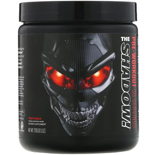 JNX Sports, The Shadow, Pre-Workout, Fruit Punch, 9.5 oz (270 g) Review