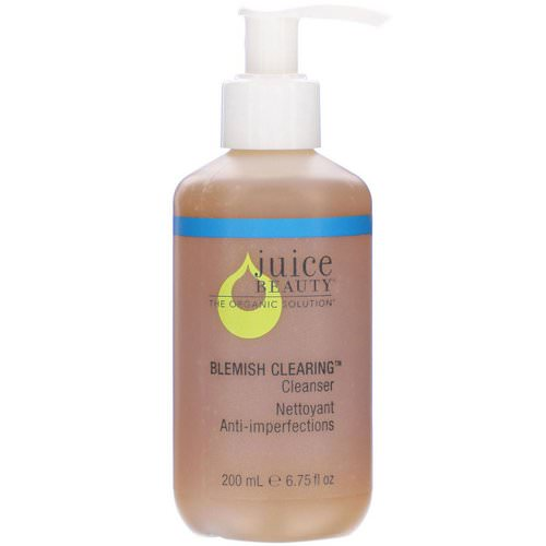 Juice Beauty, Blemish Clearing Cleanser, 6.75 fl oz (200 ml) Review