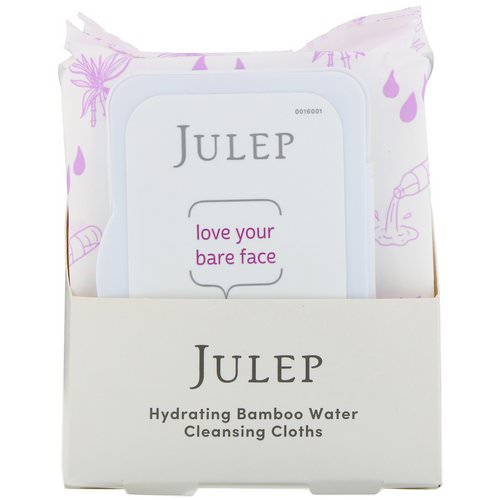 Julep, Love Your Bare Face, Hydrating Bamboo Water Cleansing Cloths, 30 Towelettes Review