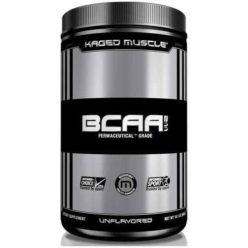 Kaged Muscle, BCAA 2:1:1, Unflavored, 14.1 oz (400 g) Review