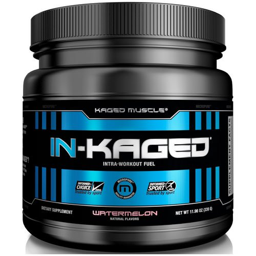 Kaged Muscle, In-Kaged Intra-Workout Fuel, Watermelon, 11.97 oz (339 g) Review