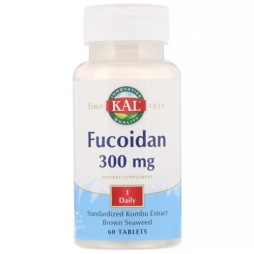 KAL, Fucoidan, 300 mg, 60 Tablets Review