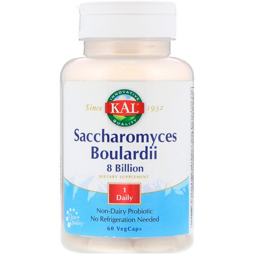 KAL, Saccharomyces Boulardii, 8 Billion, 60 VegCaps Review