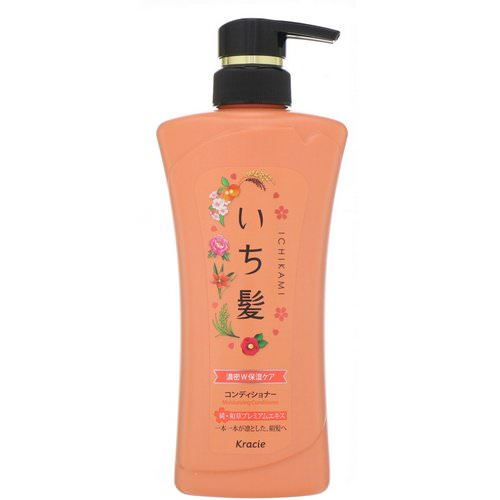 Kracie, Ichikami, Moisturizing Conditioner, 16.93 oz (480 g) Review