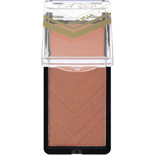 L.A. Girl, Just Blushing Powder, Just Radiant, 0.25 oz (7 g) Review
