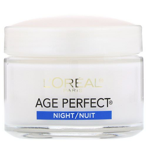 L'Oreal, Age Perfect, Night Cream, 2.5 oz (70 g) Review