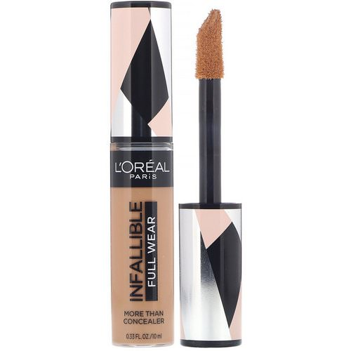 L'Oreal, Infallible Full Wear More Than Concealer, 400 Caramel, .33 fl oz (10 ml) Review