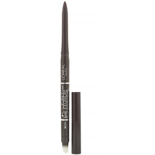 L'Oreal, Infallible Mechanical Eyeliner, 531 Brown, 0.008 oz (240 mg) Review