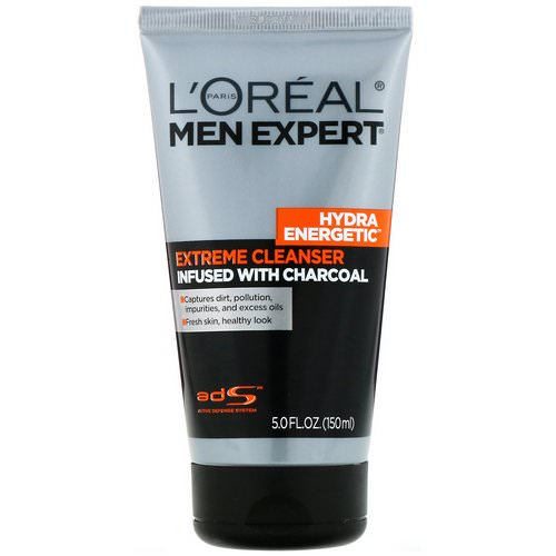 L'Oreal, Men Expert, Extreme Cleanser, 5 fl oz (150 ml) Review
