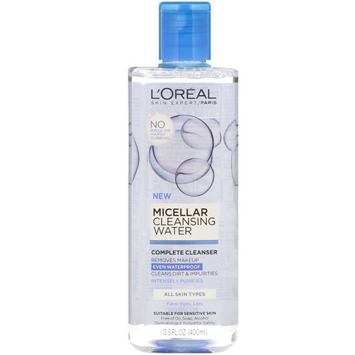 L'Oreal, Micellar Cleansing Water, All Skin Types, 13.5 fl oz (400 ml) Review
