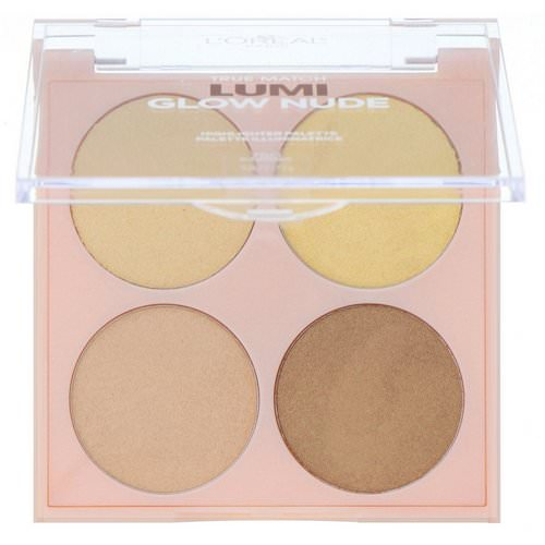 L'Oreal, True Match Lumi Glow Nude Highlighter Palette, 750 Sunkissed, 0.26 oz (7.3 g) Review