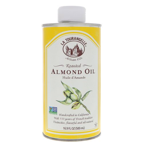 La Tourangelle, Roasted Almond Oil, 16.9 fl oz (500 ml) Review